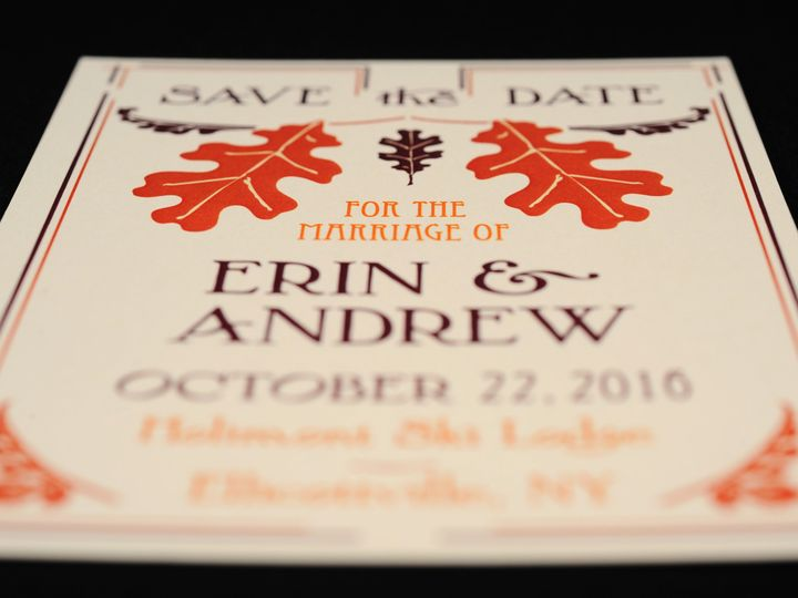 Tmx 1482447396922 Wvw6789 Hamburg, NY wedding invitation