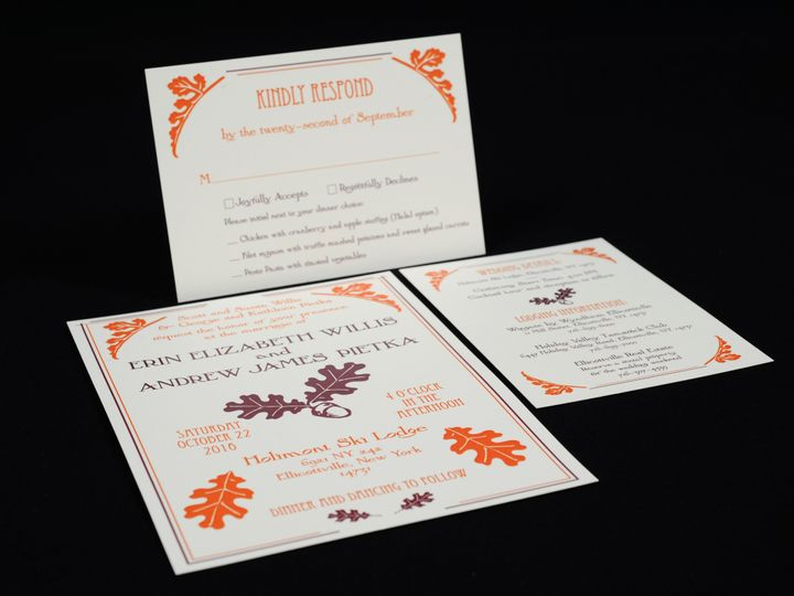 Tmx 1482448899482 Wvw0134 Hamburg, NY wedding invitation