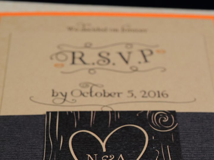 Tmx 1482448928164 Wvw0138 Hamburg, NY wedding invitation