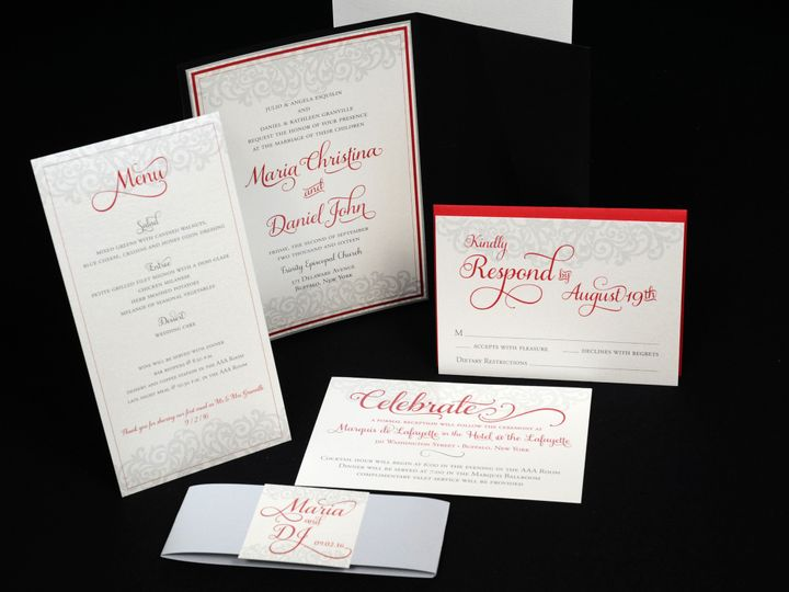 Tmx 1482448975695 Wvw0151 Hamburg, NY wedding invitation
