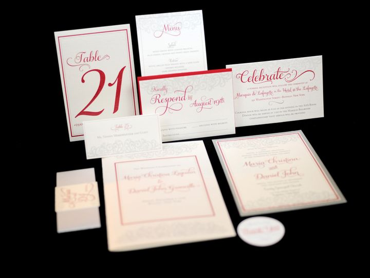 Tmx 1482449051554 Wvw0172 Hamburg, NY wedding invitation