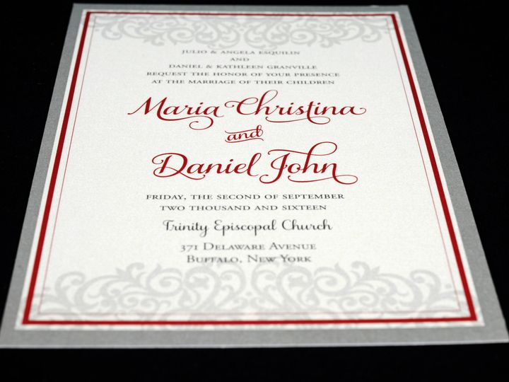 Tmx 1482449099034 Wvw0185 Hamburg, NY wedding invitation