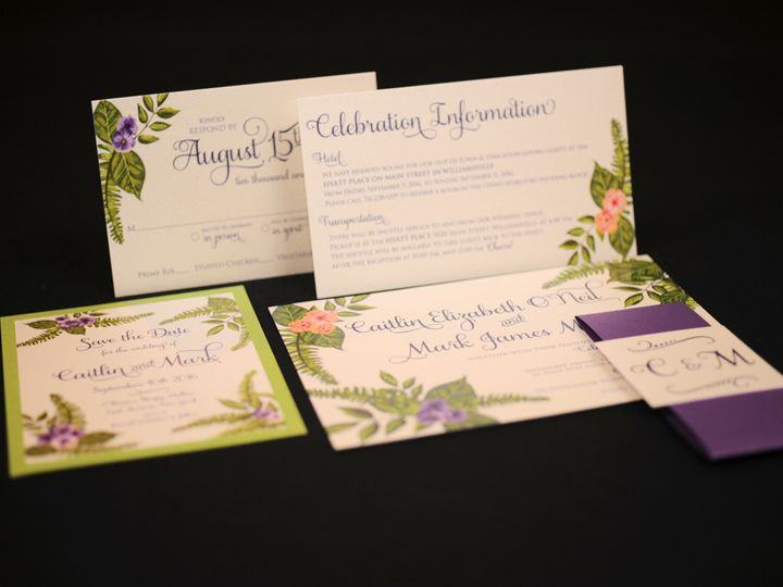 Tmx 1482449134964 Wvw0197 Hamburg, NY wedding invitation
