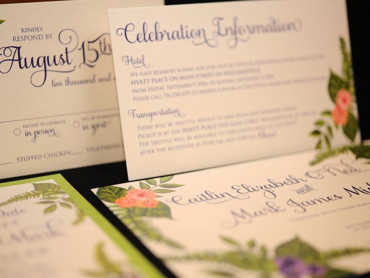 Tmx 1482449147052 Wvw0201 Hamburg, NY wedding invitation