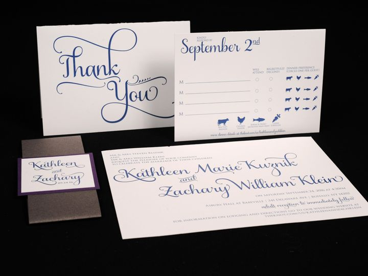 Tmx 1482449197718 Wvw0246 Hamburg, NY wedding invitation