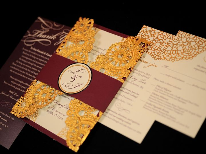 Tmx 1482449456640 Wvw0325 Hamburg, NY wedding invitation