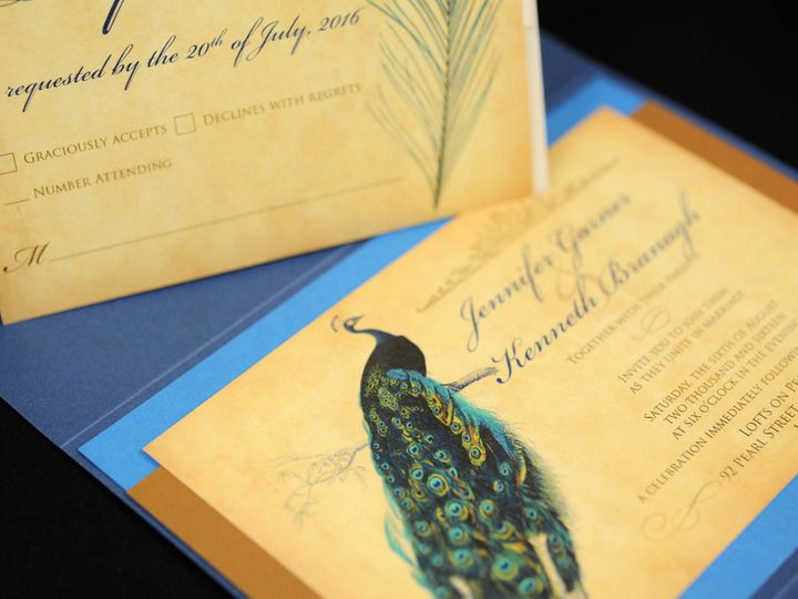Tmx 1482449506840 Wvw0340 Hamburg, NY wedding invitation