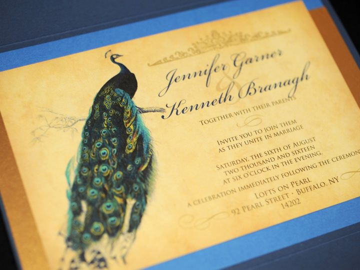 Tmx 1482449521262 Wvw0345 Hamburg, NY wedding invitation