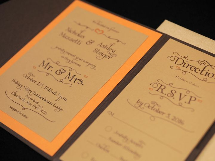 Tmx 1482449546373 Wvw0353 Hamburg, NY wedding invitation