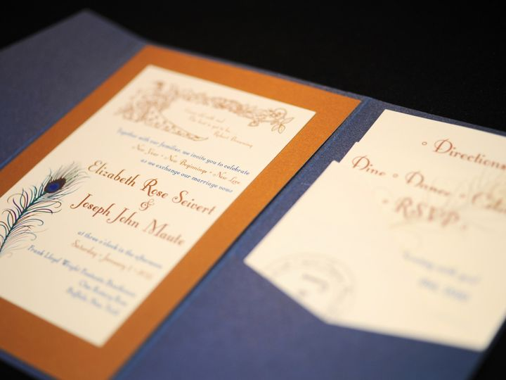 Tmx 1482449665846 Wvw0384 Hamburg, NY wedding invitation
