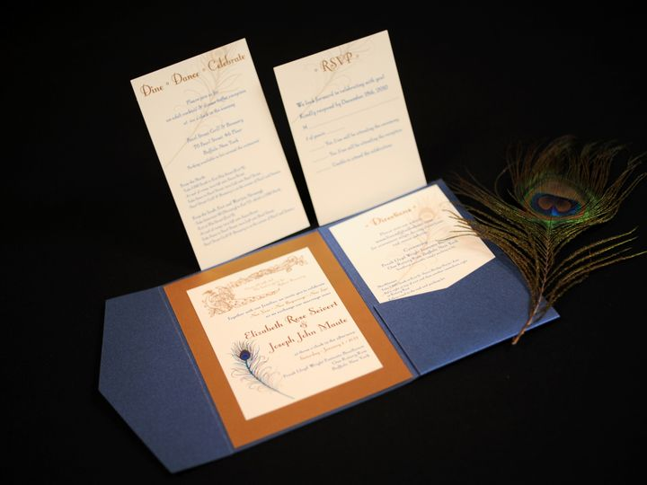 Tmx 1482449701269 Wvw0392 Hamburg, NY wedding invitation