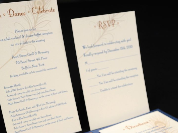 Tmx 1482449713598 Wvw0398 Hamburg, NY wedding invitation