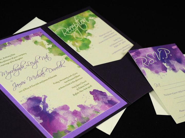 Tmx 1482451162532 Wvw6600 Hamburg, NY wedding invitation