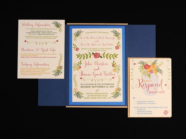 Tmx 1482451216405 Wvw6698 Hamburg, NY wedding invitation