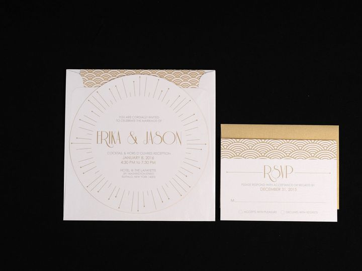 Tmx 1482451228178 Wvw6703 Hamburg, NY wedding invitation
