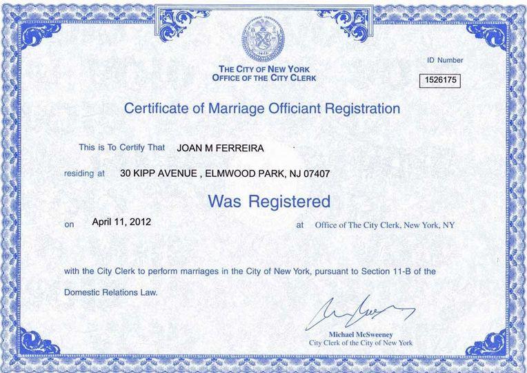 800x800 1435164827246 Joan Ferreira Wedding Officiant New York City Regi