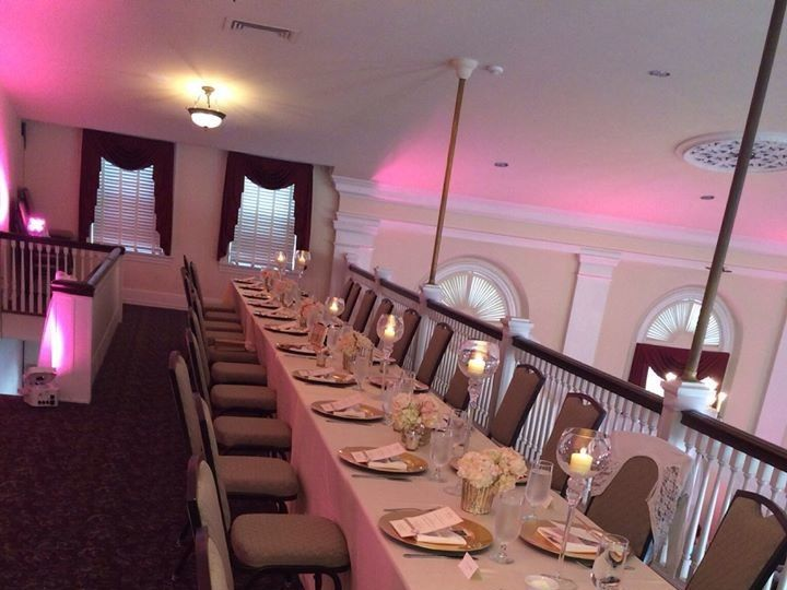 Tmx 1501613021241 Headtablebalcony3 Allentown, Pennsylvania wedding venue
