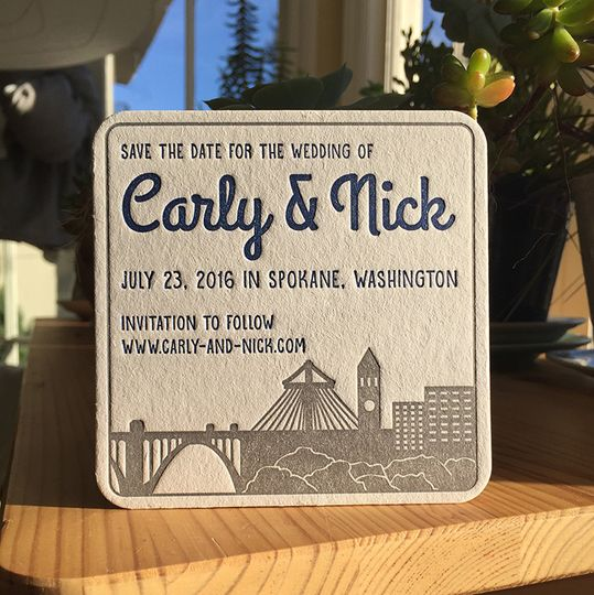 Customized invitation