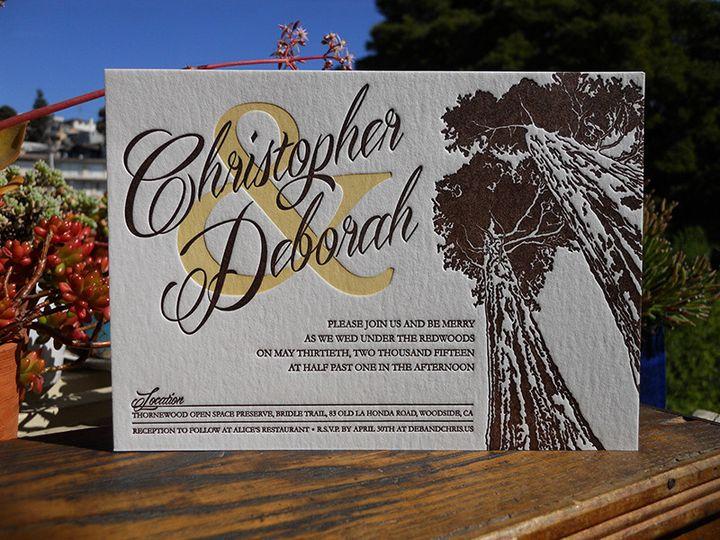 Tmx 1444874242590 Chisdebinvite Portland, OR wedding invitation