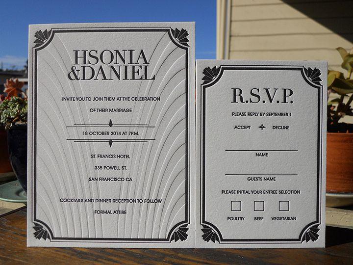 Tmx 1444874273706 Danielhsoniainviteset Portland, OR wedding invitation
