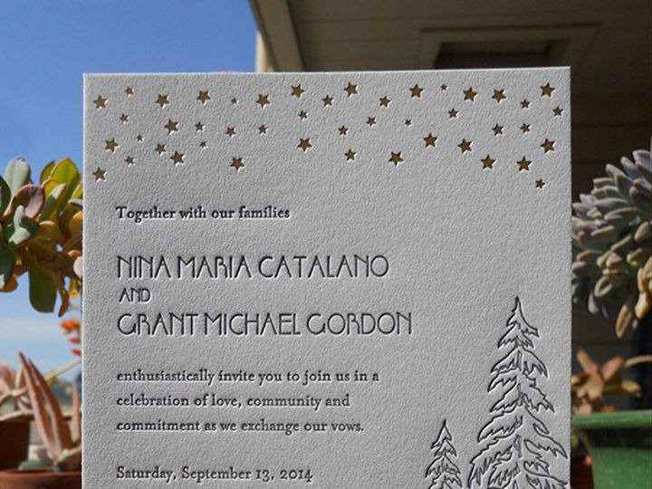 Tmx 1444874323065 Grantninainvite Portland, OR wedding invitation