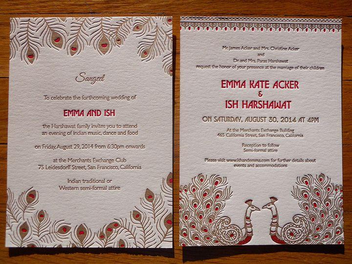 Tmx 1444874429174 Emmaishinviteset2 Portland, OR wedding invitation