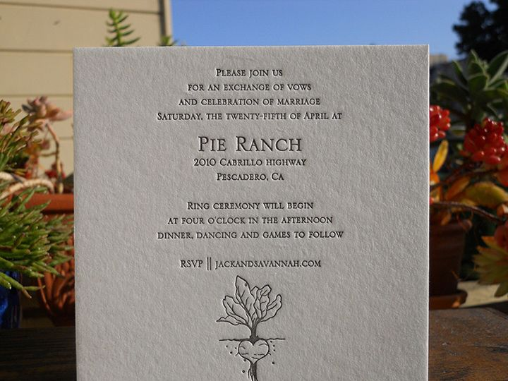 Tmx 1444874443370 Jackreceptioncard Portland, OR wedding invitation