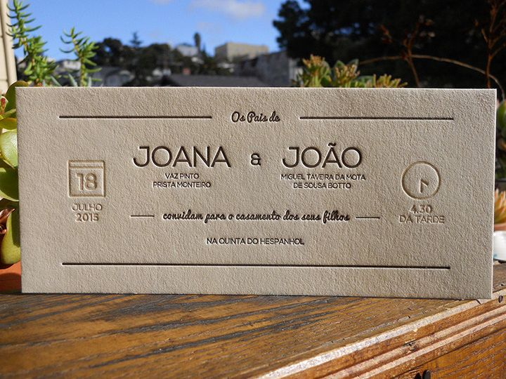 Tmx 1444874480306 Joanajoaoinvite Portland, OR wedding invitation