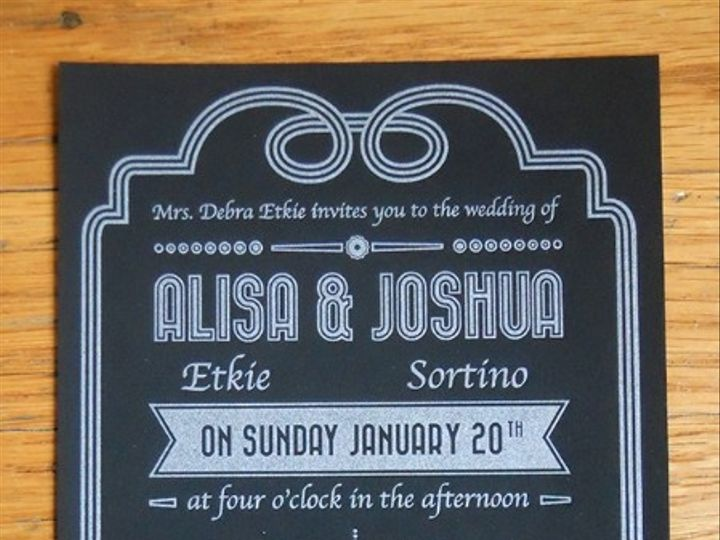 Tmx 1444874570610 Joshuainvit2e Portland, OR wedding invitation