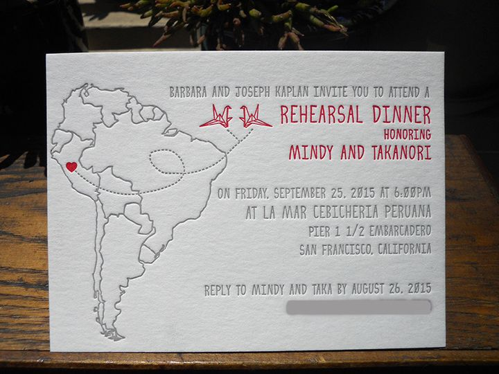 Tmx 1444874864521 Mindytakadinner Portland, OR wedding invitation