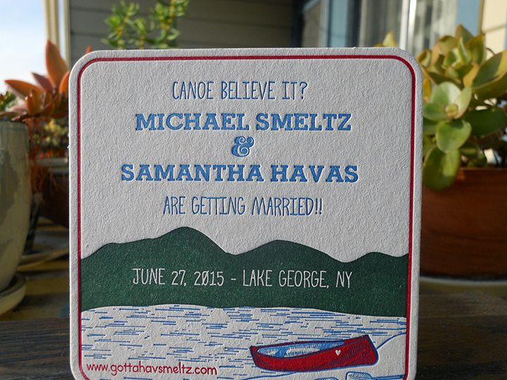 Tmx 1444874929287 Samanthamichaelcoaster Portland, OR wedding invitation