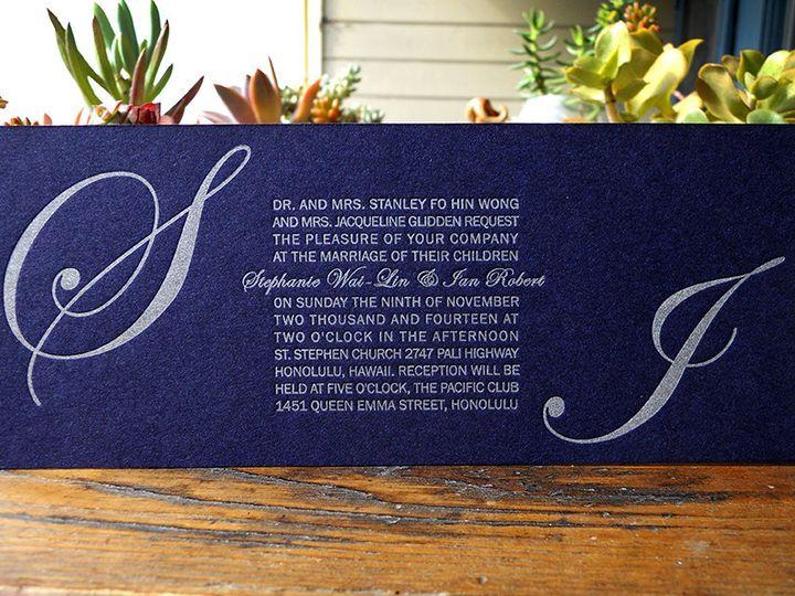 Tmx 1444875155202 Stephaniewonginvite Portland, OR wedding invitation