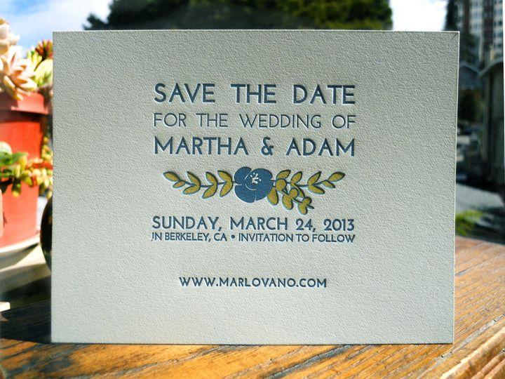 Tmx 1444926057921 Marthasave Portland, OR wedding invitation