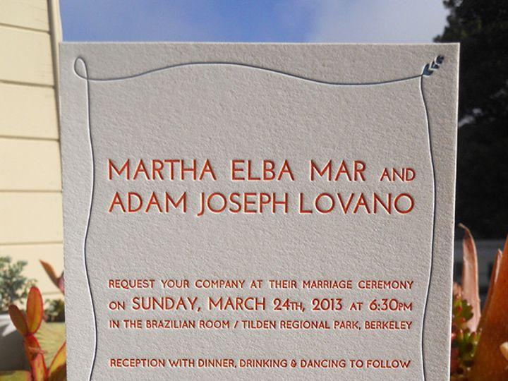 Tmx 1444926091931 Marthainvite Portland, OR wedding invitation