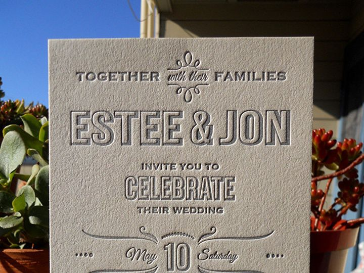 Tmx 1444926233068 Esteeinvite Portland, OR wedding invitation