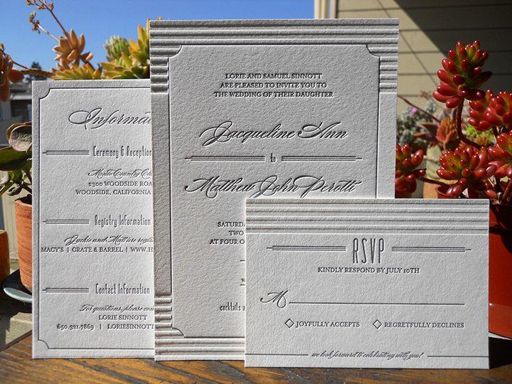 Tmx 1444926277245 Jackieset Portland, OR wedding invitation