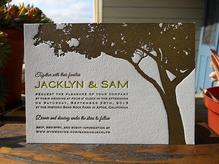 Tmx 1444926285620 Jacklynsaminvite Portland, OR wedding invitation