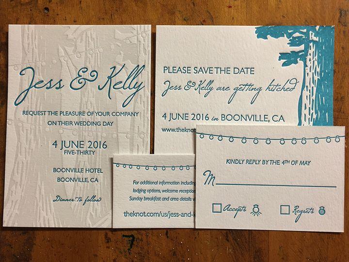 Tmx 1446881150216 Jesskellyset Portland, OR wedding invitation