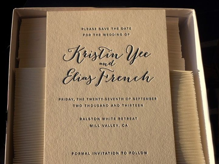 Tmx 1449599675 65e4eb462c758907 1444925528907 Kristinbox Portland, OR wedding invitation