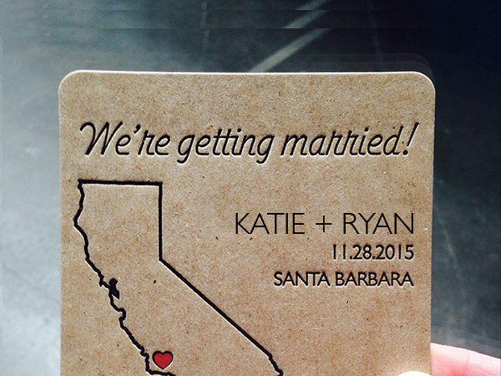 Tmx 1450379172917 Kraftcoaster2 Portland, OR wedding invitation