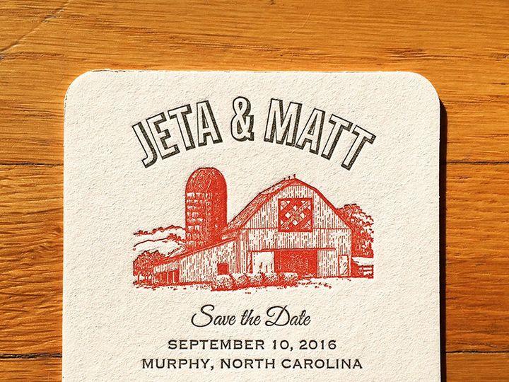 Tmx 1450379441727 Jetamattcoaster Portland, OR wedding invitation