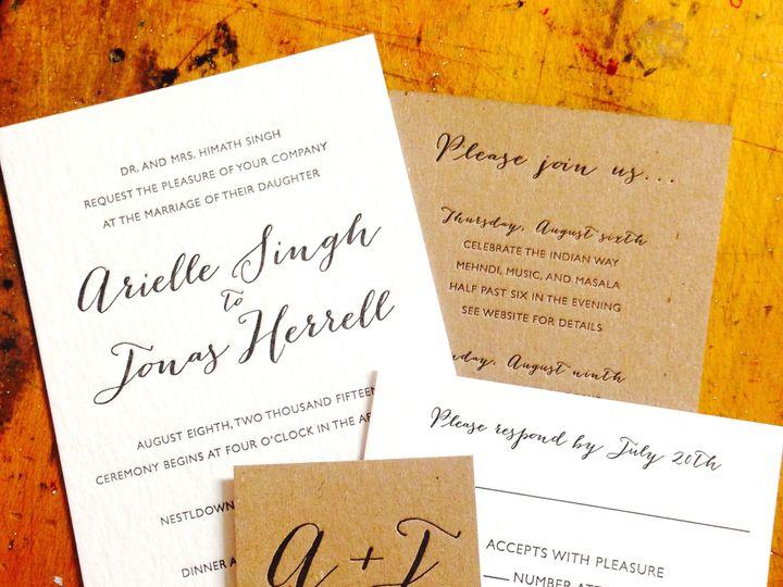 Tmx 1451326549291 Ariellejonasset Portland, OR wedding invitation