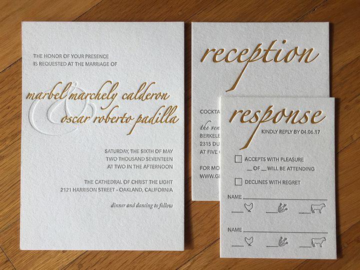 Tmx 1504767953672 Marbelinviteset Portland, OR wedding invitation