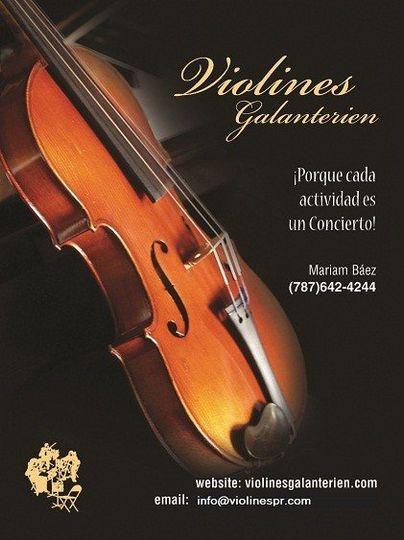 Violins in Puerto Rico