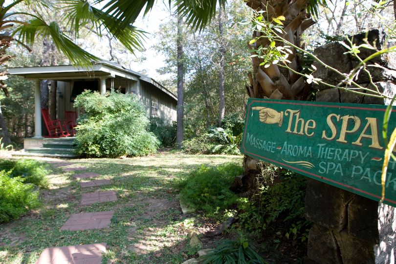 Exterior view of the 7F Lodge & Spa