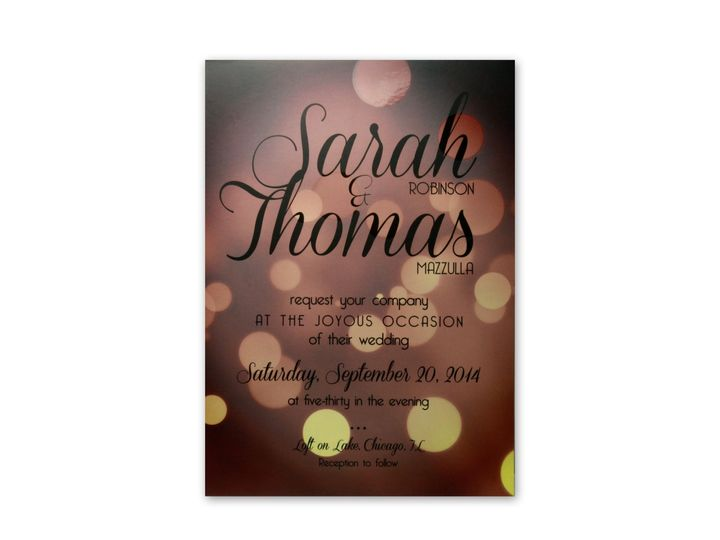 Tmx 1414442131718 Mazzulla Invite Single Gaithersburg wedding invitation