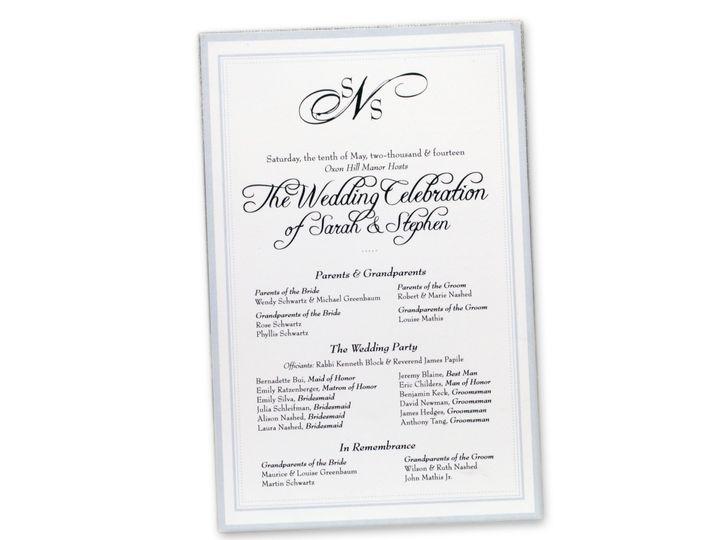 Tmx 1414463952914 Sarah Nash Programf Gaithersburg wedding invitation