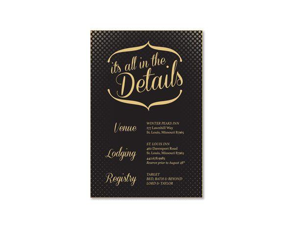 Tmx 1414464054762 Polkadot Infof Fb Gaithersburg wedding invitation