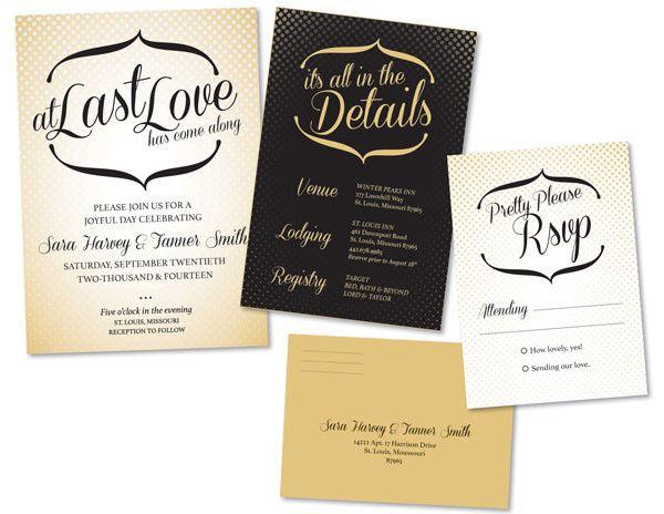 Tmx 1414464064958 Polkadot Suite Fb Gaithersburg wedding invitation