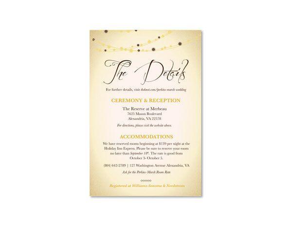 Tmx 1414464136553 Lights Infof Fb Gaithersburg wedding invitation
